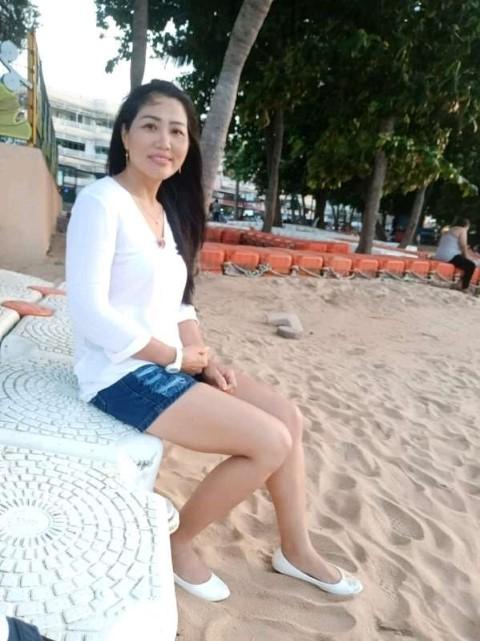 Single Thai Girl on Beach