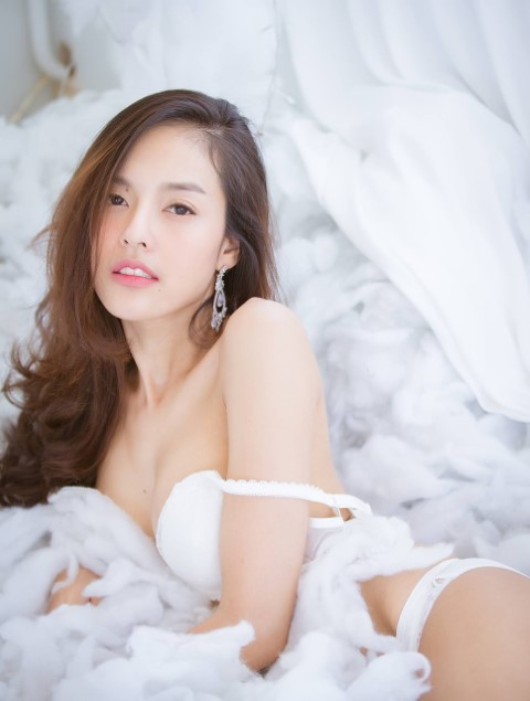 Thai Girl in Bed