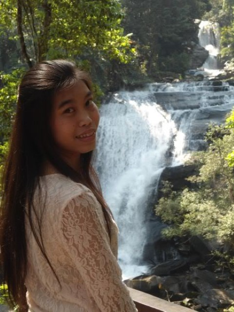 Thai Girl in Forest