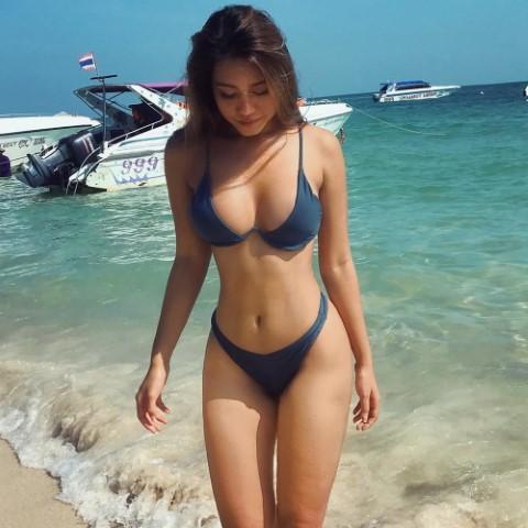 Magic Thai Girl On Beach