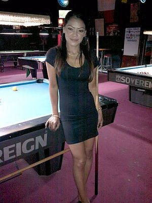 Thai Girl Love To Play Pool